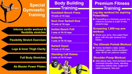 Template of a Fitness Center for Ladies