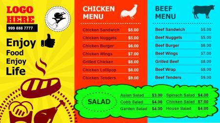 Fast Food Signage Design