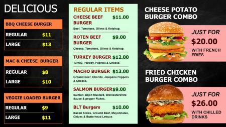 Simple Burgers Design
