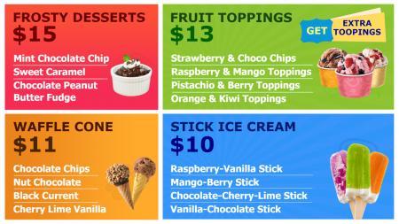 Digital design for Dessert