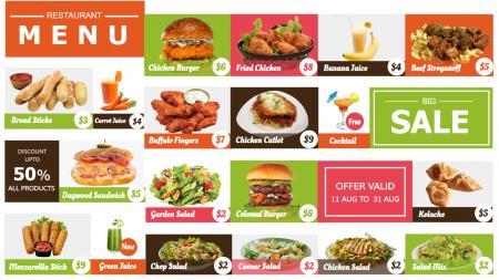 offer menu board