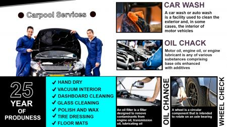 Car Repairing Signage graphics