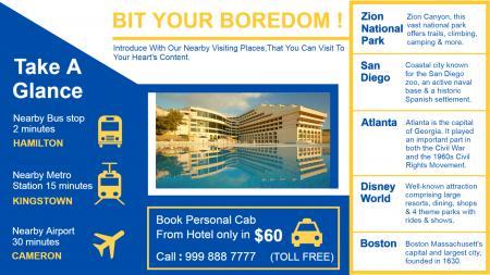Hotel Digital Signage Screen