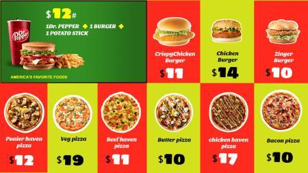 Pizza Menuboard